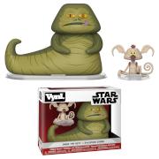 Figuras Funko Vynl - Jabba y Salacious B. Crumb - Star Wars