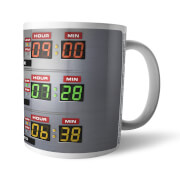 Back To The Future Destination Time Mug