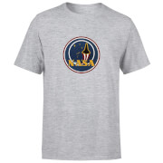 T-Shirt Homme NASA JM Patch - Gris