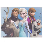 Disney Frozen Group Hug Printed Canvas