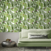 Superfresco Easy Nopalito Green Cactus Wallpaper