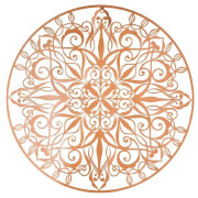 Art for the Home Copper Luxe Wire Wall Art