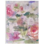 Art for the Home Abstract Blossoms Printed Canvas