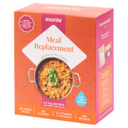 Meal Replacement Indian Style Curry with Rice, Pack of 5