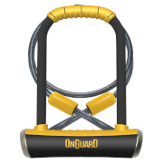 OnGuard Pitbull Standard Shackle U-Lock/Cable - 115mm x 230mm x 14mm