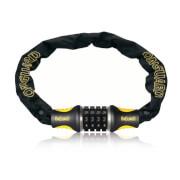 OnGuard Mastiff Chain Combo Lock - 80cm x 8mm