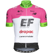 POC Team Education First - Drapac P/B Cannondale Jersey - Fluorescent Pink