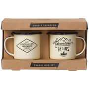 Gentlemen's Hardware Double Espresso Mugs (Set of 2)