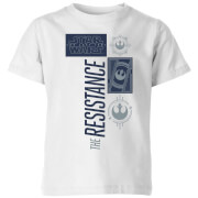 Star Wars The Resistance Kinder T-shirt - Wit