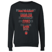 Star Wars Dark Side Echo Black Women's Sweatshirt - Black