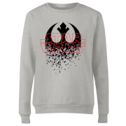 Star Wars Shattered Emblem Dames Trui - Grijs