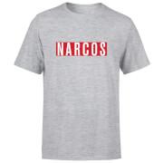 T-Shirt Homme Logo Narcos - Gris