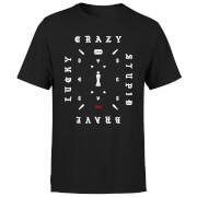 Narcos Lucky Crazy T-Shirt - Black