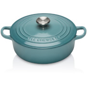 Le Creuset Signature Cast Iron Risotto Pot - 22cm - Teal
