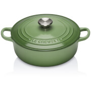 Le Creuset Signature Cast Iron Risotto Pot - 22cm - Rosemary