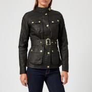 Barbour International Women's International Anglesey Wax Jacket - Black