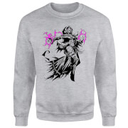 Magic The Gathering  Liliana Character Art Pullover - Grau