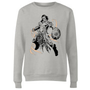 Magic The Gathering Gideon Character Art Women's Sweatshirt - Grey