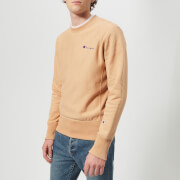 Champion Men's Crew Neck Sweatshirt - Camel