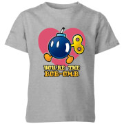 T-Shirt Homme You're The Bob-Omb - Super Mario Nintendo - Gris