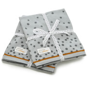Done by Deer Happy Dots Knitted Blanket - Grey