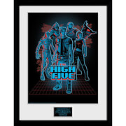 Ready Player One The High Five 12 x 16 Inches Framed Photograph