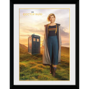 Doctor Who 13th Doctor 12 x 16 Inches Framed Photograph