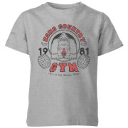 Nintendo Donkey Kong Gym Kids' T-Shirt - Grey