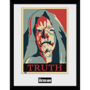 Doctor Who Truth 12 x 16 Inches Framed Photograph