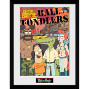 Rick and Morty Ball Fondlers 12 x 16 Inches Framed Photograph