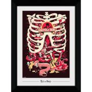Rick and Morty Anatomy Park 50 x 70cm Framed Photograph