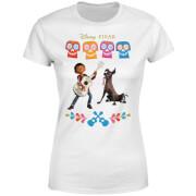 Disney Coco Miguel en Dante Dames T-shirt - Wit