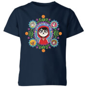 Coco Remember Me Kinder T-Shirt - Navy Blau