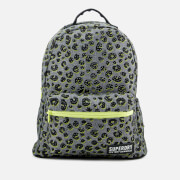Superdry Women's Midi Backpack - Grey Marl Tropics Animal