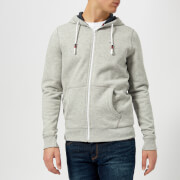 Tommy Jeans Men's Original Zip Hoody - Light Grey Heather