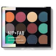 NIP+FAB Make Up Eyeshadow Palette - Jewel 12g
