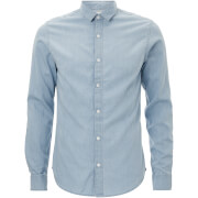 Only & Sons Men's Nevin Denim Shirt - Light Blue Denim