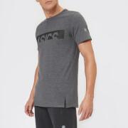 Asics Men's Graphic Short Sleeve Top - Performance Black