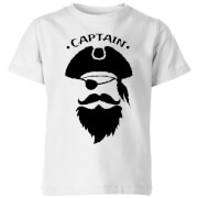 Captain Kids' T-Shirt - White