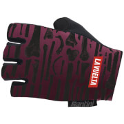 Santini La Vuelta 2018 La Huesera Race Gloves - Purple