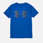 Under Armour Boys' Tech Big Logo Solid T-Shirt - Royal