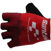 Santini Tour de Suisse 2018 Cross Race Gloves - Red