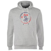 British Cook Circle Logo Hoodie - Grey