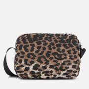 Ganni Women's Fairmont Cross Body Bag - Leopard