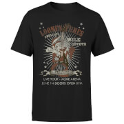 Looney Tunes Wile E Coyote Guitar Arena Tour Men's T-Shirt - Black