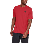 Under Armour Sportstyle Left Chest T-Shirt - Red