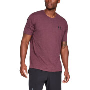 Under Armour Sportstyle Left Chest T-Shirt - Maroon