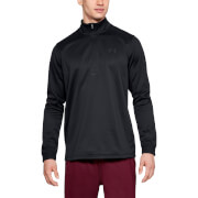 Under Armour Fleece 1/2 Zip Top - Black