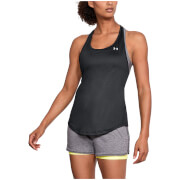 Under Armour Women's HeatGear Armour Mesh Tank Top - Black