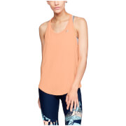 Under Armour Women's HeatGear Armour Mesh Tank Top - Orange